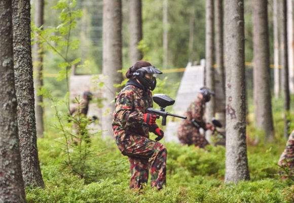 Paintball Zakopane, Paintball field