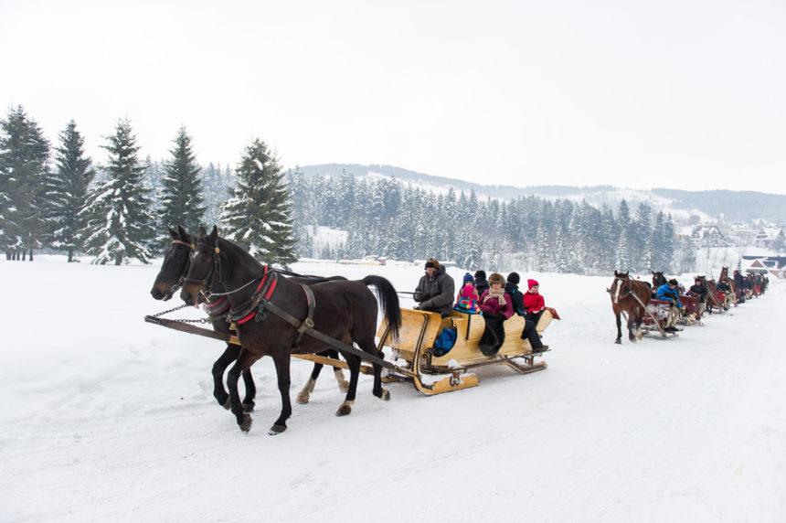 Góralskie kuligi w Zakopanem – Firma COT przygotowuje się do sezonu 2019/2020